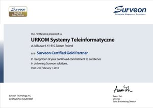 SURVEON Gold Partner